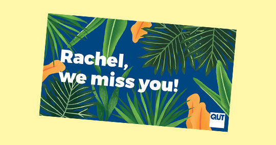 QUT we miss you campaign image gallery
