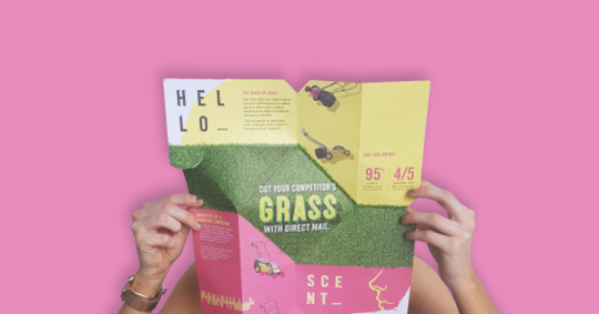 cut grass direct marketing gallery image