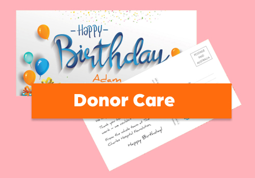 donor care birthday cards