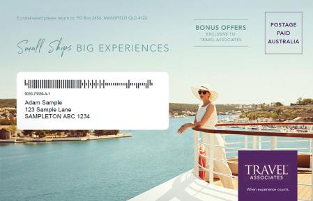 small ships big experiences envelope