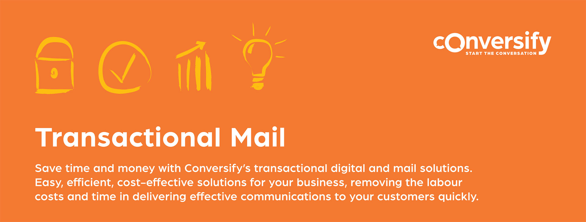 Transactional Mail Top Banner