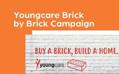 Youngcare Brick by Brick Campaign